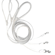 Round Leash - White
