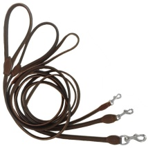 Round Leash - Brown
