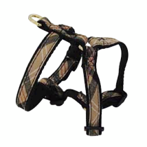 Checked Harness Adjustable Beige