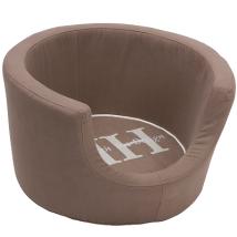 Round Basket - Taupe 60x31cm