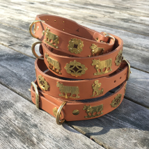 Genuine Alp Collar - Light Brown