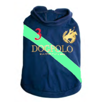 DOGPOLO - Navy/Green