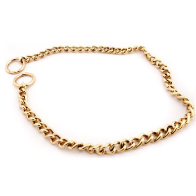 Chain Collar Brass 3mm
