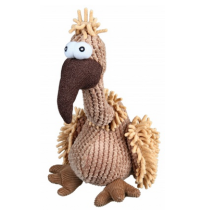Vulture Dog Toy w Sound Plush - Beige 33cm