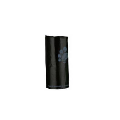 Poobags black 4x20