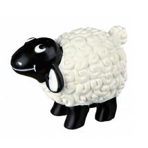 Dog Toy Sheep Latex w Sound 9cm