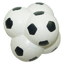 Uneven Hard Rubber Football 7cm
