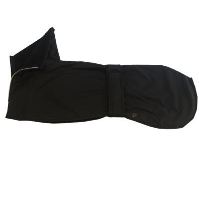 Greyhound raincoat w lining black 70cm