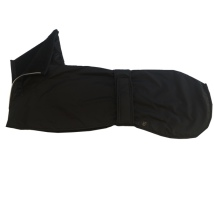 Greyhound raincoat w lining black 70cm