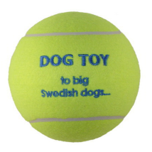 Tennis Ball 15cm Yellow