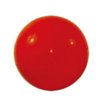 Hard Rubber Ball 9cm - Red