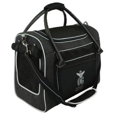Aviator Canvas Bag - Black