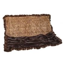Cuddle Blanket Leopard/Brown