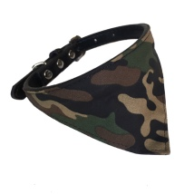 Bandana w Black Collar - Camo