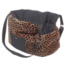 Winter Bag Velvet - Leopard