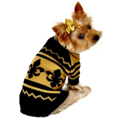 Sweater Black Lillies - Yellow/Black