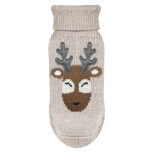 Sweater Santa Deer - Beige