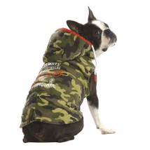 Wildlife (Pugs&Co) Padded Coat - Camo