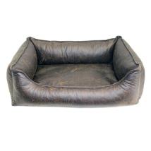 Kensington Rectangular Bed - Brown