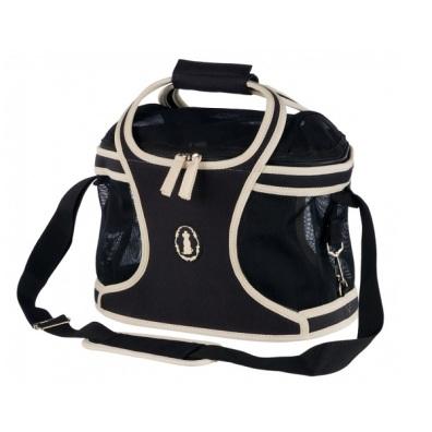 Carrier Bag w Net - Black/White