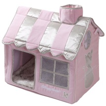 Luxury Living Cat Villa - Pink
