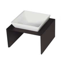 Maebashi Single Bowl Wooden Table - Black