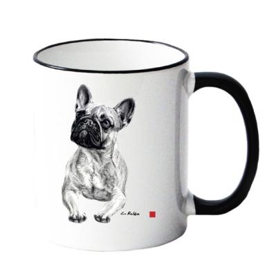 Mug w French Bulldog