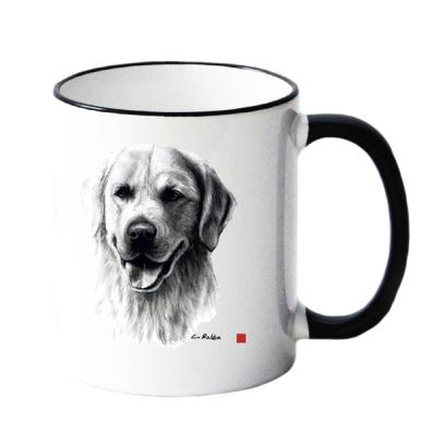 Mug w Golden Retriever