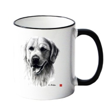 Mug w Golden Retriever