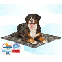Cooling Mat w Temperature Self Regulating Gel Foam - Camo
