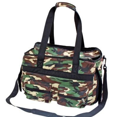 Camo Canvas Bag