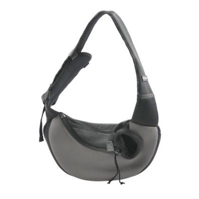 Softshell Shoulder Bag Left Sided - Grey