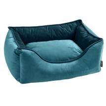 Luxury Velvet Bed - Petroleum