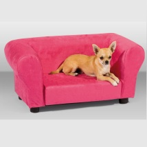 PET SOFA MICROFIBRE PINK