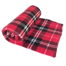 Blanket Checked Patern - Red