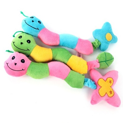 Cute Worms in Mixed Colors
