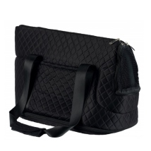 Mary Quilted Bag - Black