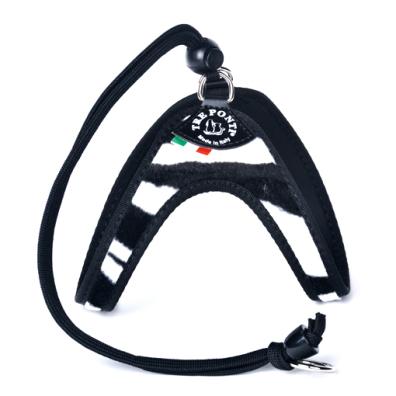 Roma Harness w Strap - Zebra
