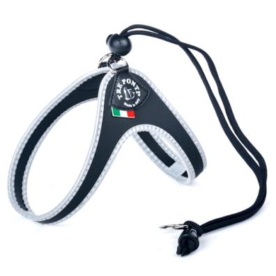 Roma Harness w Strap - Black