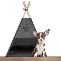 Cosy Camping Tent - Dark Grey