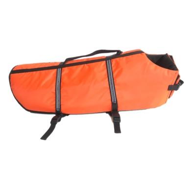 Large Dog Saver Life Jacket orange