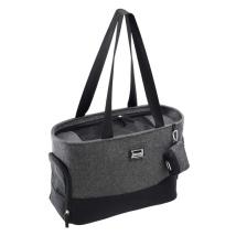 Herringbone Chic Bag w Matching Poobag Holder