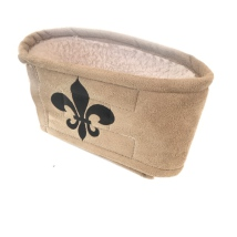 Gentleman Wraps Soft w Black Lily - Beige