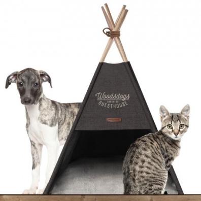Cosy Camping Tent - Grey