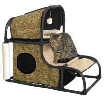 Cat Home and Activity House - Leopard