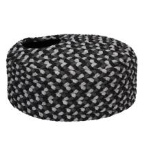 Oval Pet Basket - Grey/Black