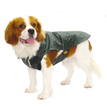 Green oilskin like coat - Waterproof
