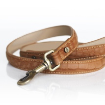 Hogan Vegan leather Leash - Cognac