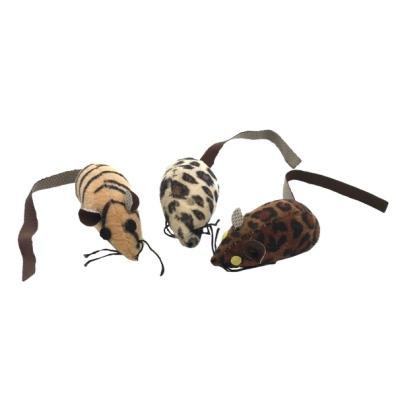 Safari Catnip Fun Mice 3pcs - Animal Print
