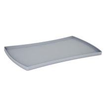 Silcone Soft Placemat - Steel Grey